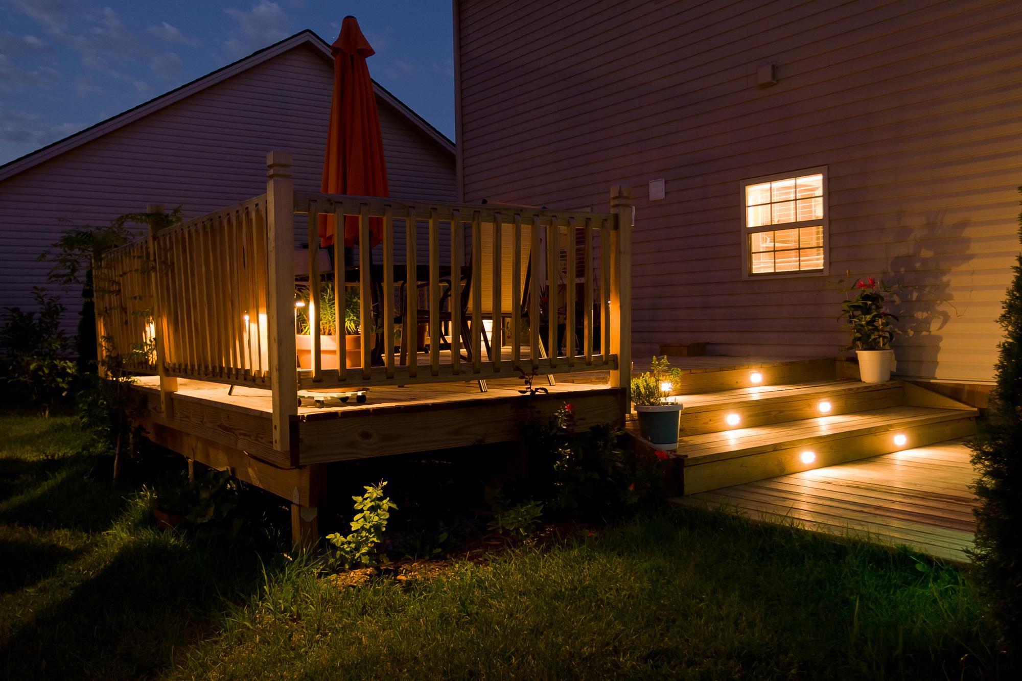 Certified deck lighting