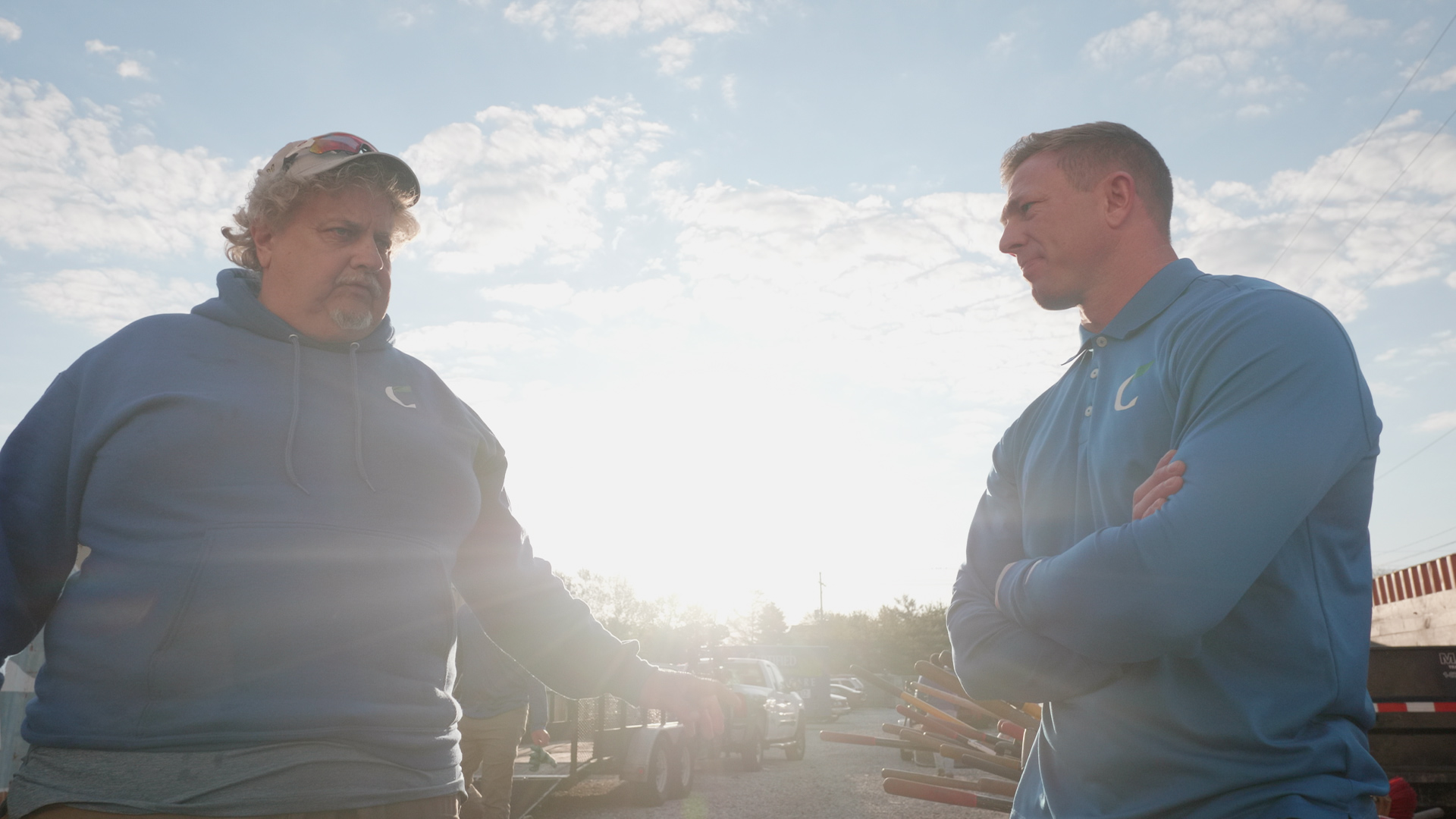 Matt Howe and Jim Keller